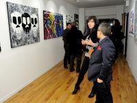 Jonathan Lindsay solo exhibition opening #22