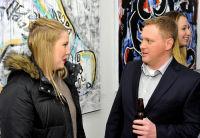 Jonathan Lindsay solo exhibition opening #35