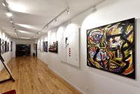 Jonathan Lindsay solo exhibition opening #102