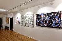 Jonathan Lindsay solo exhibition opening #107