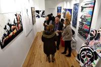 Jonathan Lindsay solo exhibition opening #109