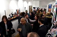 Jonathan Lindsay solo exhibition opening #121
