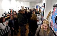 Jonathan Lindsay solo exhibition opening #114