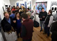 Jonathan Lindsay solo exhibition opening #122