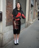 Paris Fashion Week Street Style #5