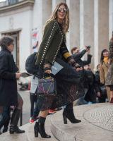 Paris Fashion Week Street Style #12