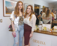 Chiara Ferragni and Ghita Chakir attend The Spring Story 'Marrakech Meets California' Hosted by Rumi Neely & Isabella Huffington on March 24, 2016 (Photo by Milla Cochran/Guest Of A Guest)