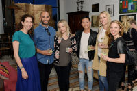 LOS ANGELES, CA - MARCH 17:  Tammy Goldman, Nathan Brookshire, Samantha Mullens, David Ko, Brittany Zyckil and Shannon Wollack attend Sarah Hendler Estate Debuts At Nickey Kehoe/NK Shop on March 17, 2016 in Los Angeles, California.  (Photo by Stefanie Keenan/Getty Images for Sarah Hendler)