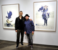 Eagle Hunters exhibition opening at Joseph Gross Gallery #16
