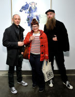 Eagle Hunters exhibition opening at Joseph Gross Gallery #71