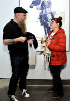 Eagle Hunters exhibition opening at Joseph Gross Gallery #84