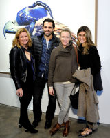 Eagle Hunters exhibition opening at Joseph Gross Gallery #95
