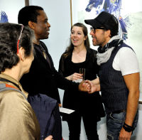 Eagle Hunters exhibition opening at Joseph Gross Gallery #103