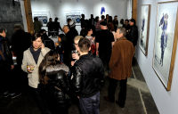 Eagle Hunters exhibition opening at Joseph Gross Gallery #113
