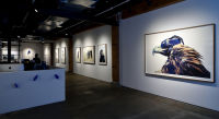 Eagle Hunters exhibition opening at Joseph Gross Gallery #125
