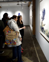 Eagle Hunters exhibition opening at Joseph Gross Gallery #137