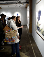 Eagle Hunters exhibition opening at Joseph Gross Gallery #138