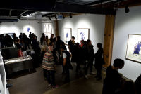Eagle Hunters exhibition opening at Joseph Gross Gallery #147