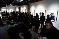 Eagle Hunters exhibition opening at Joseph Gross Gallery #150