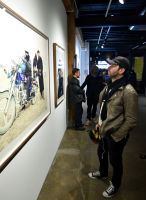 Eagle Hunters exhibition opening at Joseph Gross Gallery #153