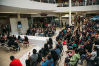 Prom Preview Runway Show for Outstanding Local Students at The Shops at Montebello #87