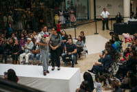 Prom Preview Runway Show for Outstanding Local Students at The Shops at Montebello #90