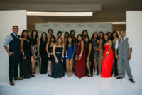 Prom Preview Runway Show for Outstanding Local Students at The Shops at Montebello #91