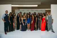 Prom Preview Runway Show for Outstanding Local Students at The Shops at Montebello #92