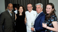 L-R: James Williams, Beverly Ivens, Chef Bill Telepan, NA and Leah Telepan (R) attend the Wellness in the Schools 2016 Annual Gala at the Tribeca Rooftop in New York, NY on April 18, 2016.  (Photo by Stephen Smith)
