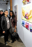 Will Broussard and Mary Dyann Kees attend the Art LeadHERS exhibition opening at Joseph Gross Gallery in New York, NY on May 5, 2016.  (Photo by Stephen Smith)