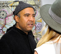 Art LeadHERS Exhibition Opening at Joseph Gross Gallery #71