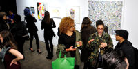 Art LeadHERS Exhibition Opening at Joseph Gross Gallery #92