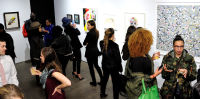 Art LeadHERS Exhibition Opening at Joseph Gross Gallery #93