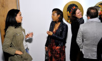 Art LeadHERS Exhibition Opening at Joseph Gross Gallery #119