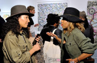 Art LeadHERS Exhibition Opening at Joseph Gross Gallery #141