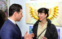 Art LeadHERS Exhibition Opening at Joseph Gross Gallery #153