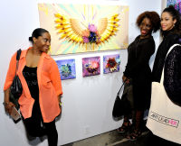 Art LeadHERS Exhibition Opening at Joseph Gross Gallery #159