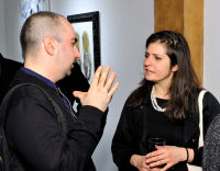 Art LeadHERS Exhibition Opening at Joseph Gross Gallery #166