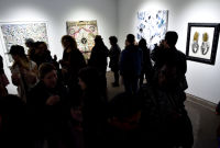 Art LeadHERS Exhibition Opening at Joseph Gross Gallery #210