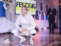 """Fencing In The Schools """"Turn The Light On Gala"""" Hosted by Tim Gunn and Tim Morehouse  #89"""