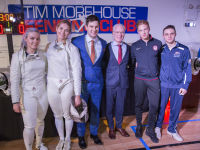 """Fencing In The Schools """"Turn The Light On Gala"""" Hosted by Tim Gunn and Tim Morehouse  #95"""