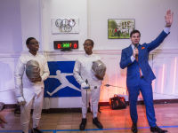 """Fencing In The Schools """"Turn The Light On Gala"""" Hosted by Tim Gunn and Tim Morehouse  #30"""