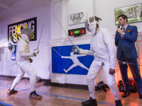 """Fencing In The Schools """"Turn The Light On Gala"""" Hosted by Tim Gunn and Tim Morehouse  #35"""