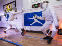 """Fencing In The Schools """"Turn The Light On Gala"""" Hosted by Tim Gunn and Tim Morehouse  #34"""