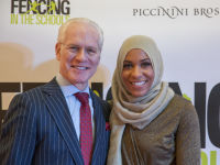 """Fencing In The Schools """"Turn The Light On Gala"""" Hosted by Tim Gunn and Tim Morehouse  #44"""
