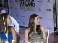 """Fencing In The Schools """"Turn The Light On Gala"""" Hosted by Tim Gunn and Tim Morehouse  #61"""