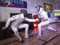 """Fencing In The Schools """"Turn The Light On Gala"""" Hosted by Tim Gunn and Tim Morehouse  #71"""