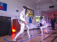 """Fencing In The Schools """"Turn The Light On Gala"""" Hosted by Tim Gunn and Tim Morehouse  #70"""