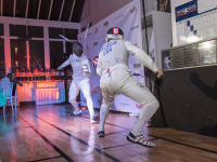 """Fencing In The Schools """"Turn The Light On Gala"""" Hosted by Tim Gunn and Tim Morehouse  #78"""