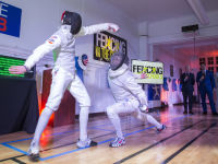 """Fencing In The Schools """"Turn The Light On Gala"""" Hosted by Tim Gunn and Tim Morehouse  #76"""